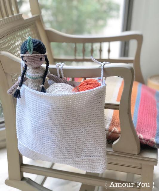 Patrón gratis canasta multi-uso crochet