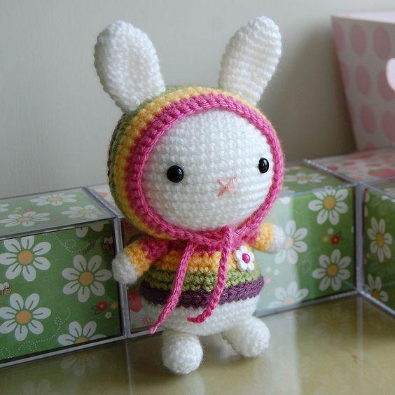 Patrón gratis conejo amigurumi