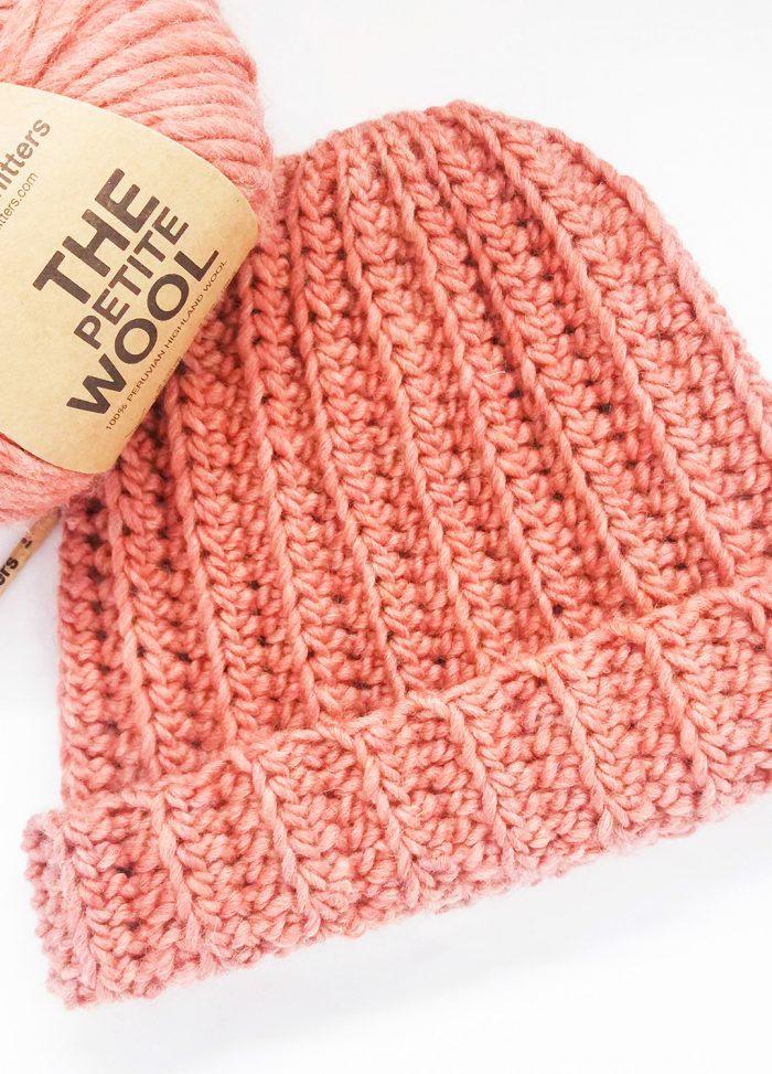 Patrón gratis gorro crochet