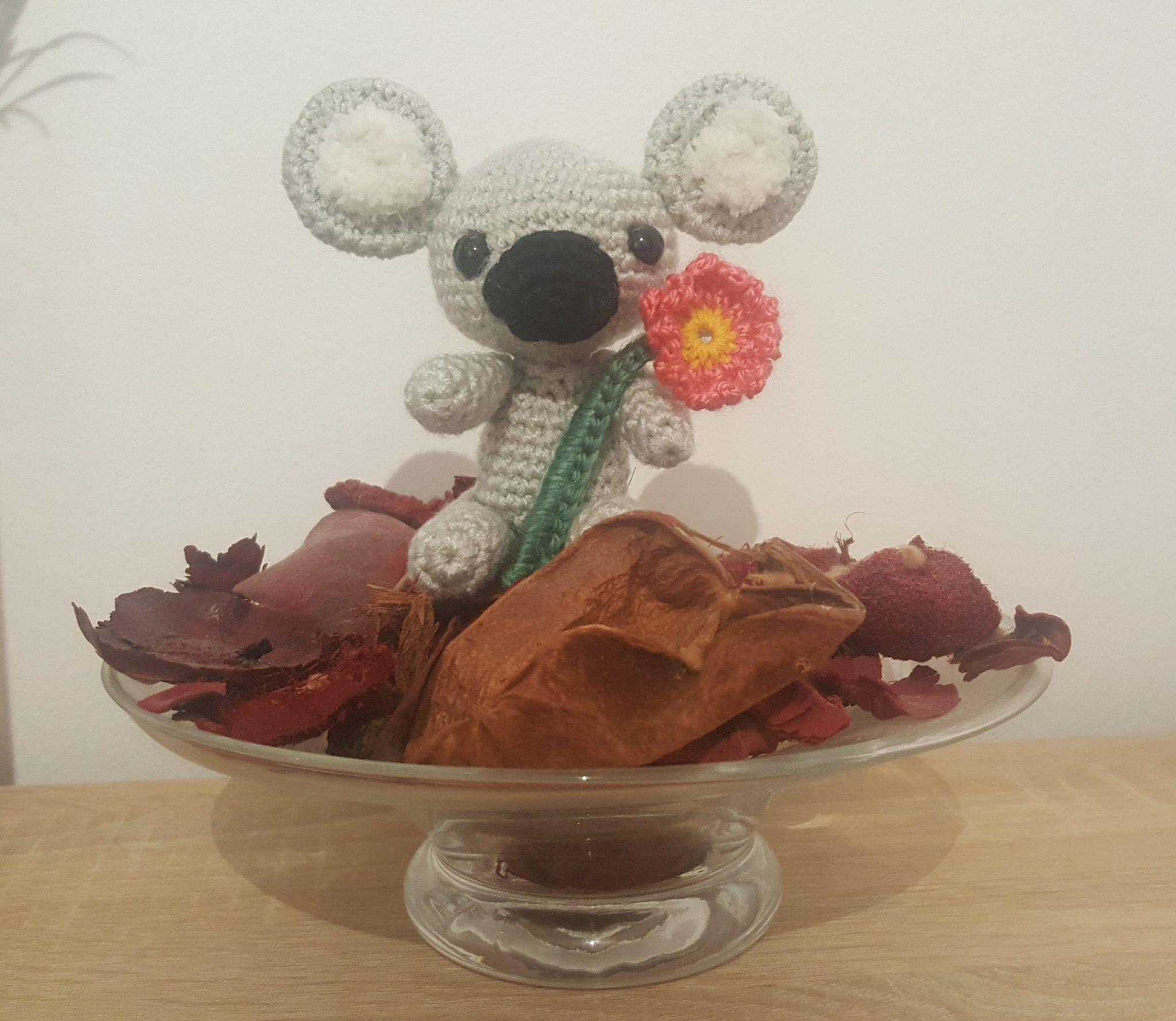 Patrón gratis koala amigurumi