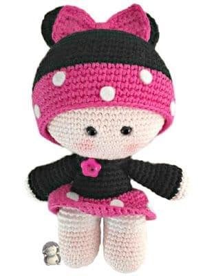 Muñecos yo-yo amigurumi crochet