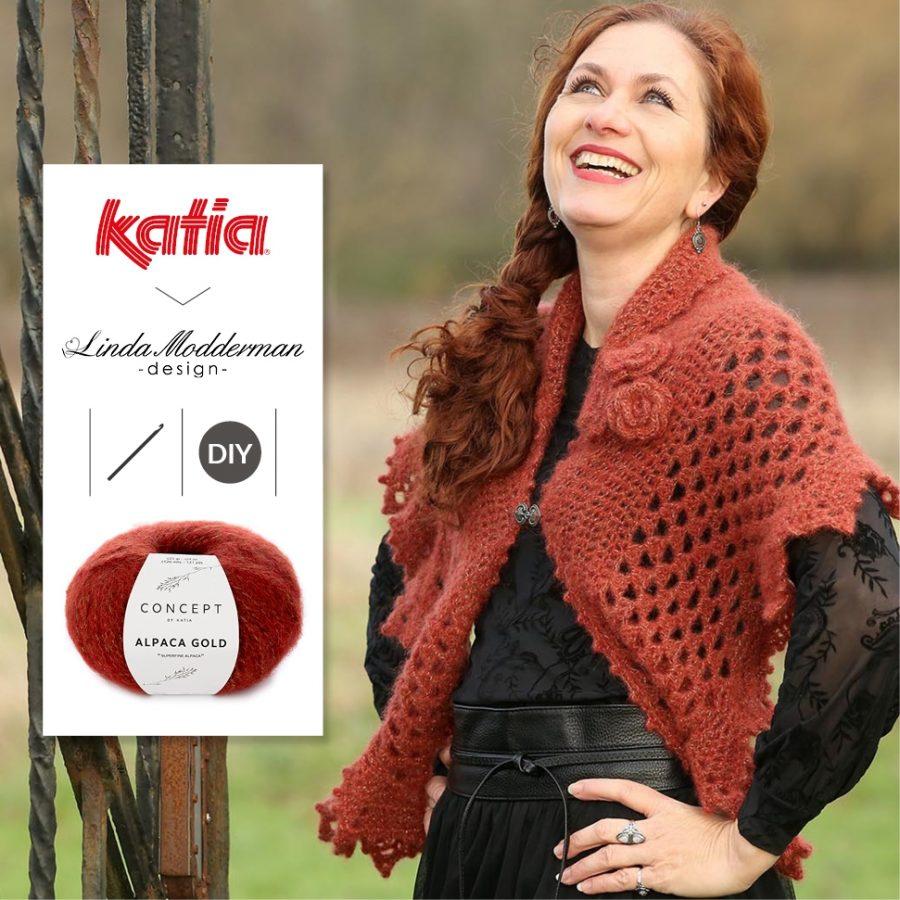 Chal Winter Rose crochet