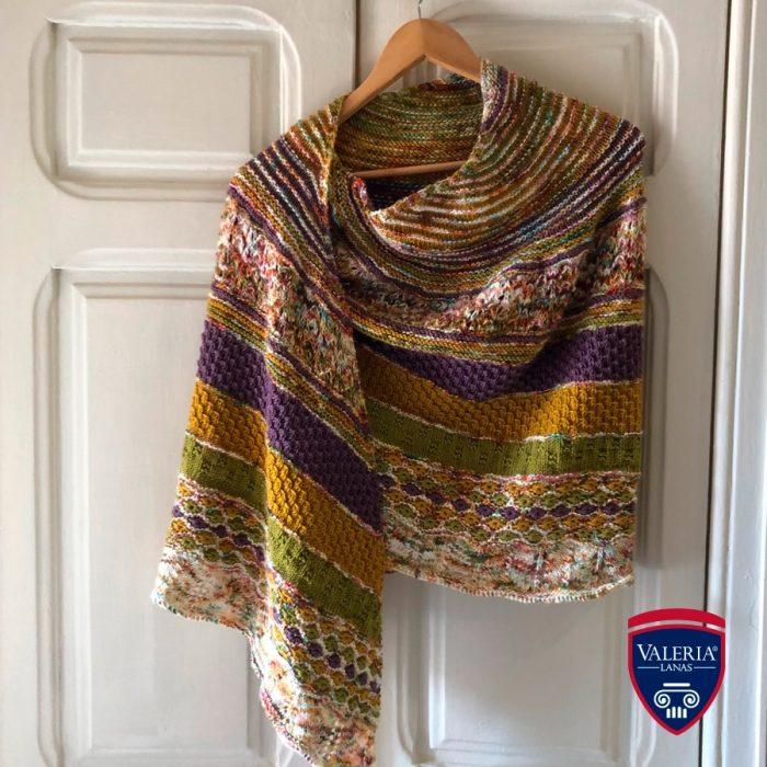 Patrón gratis chal Proto crochet