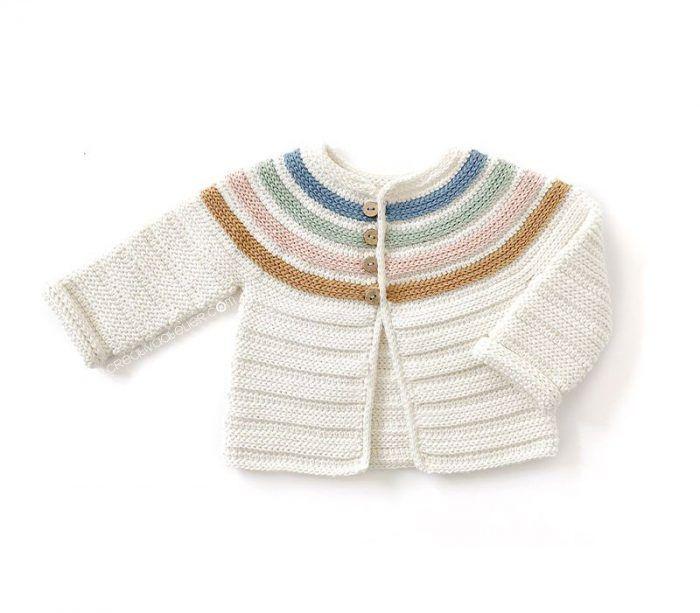 Patrón gratis chaqueta Ginger crochet