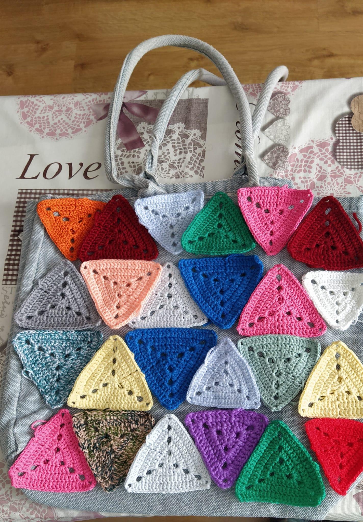 Bolsa playa crochet