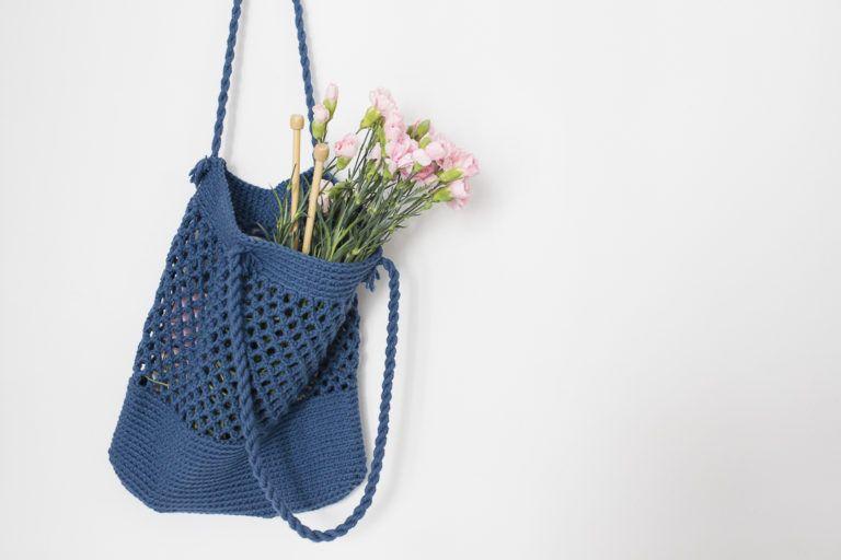 Patrón gratis bolso crochet
