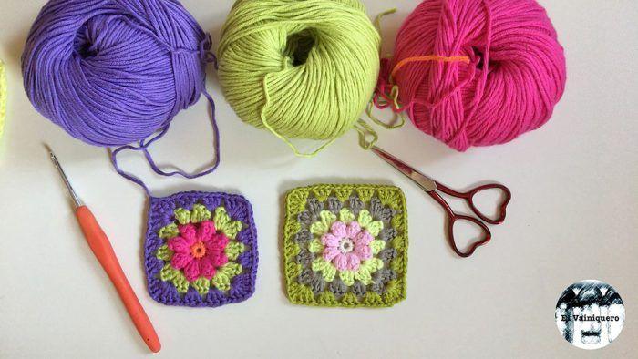 Granny flor bodoques crochet
