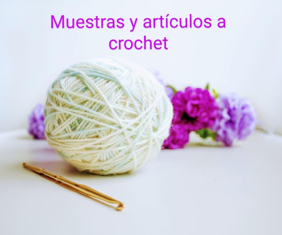 Categoría muestras y artículos crochet