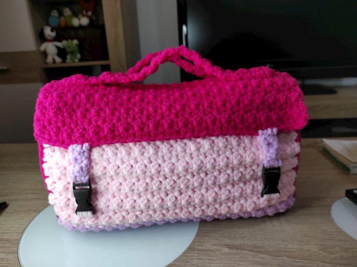 Patrón teje-bolsa crochet