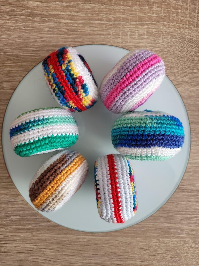Patrón gratis bola Haki crochet