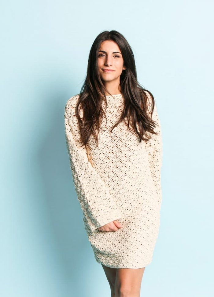 Patrón gratis vestido crochet